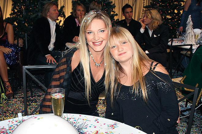 Елена Проклова с дочкой фото