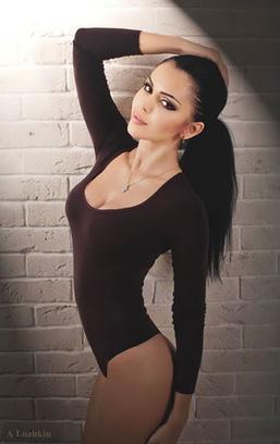 сексапильные самые красивые девушки ростовчанки девушка Ольга Меншикова стильное белье