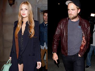 Роберт Паттинсон (Robert Pattinson) и Линдсей Лохан (Lindsey Lohan) одновременно уехали с вечеринки, которая проходила в одном из баров в Голливуде