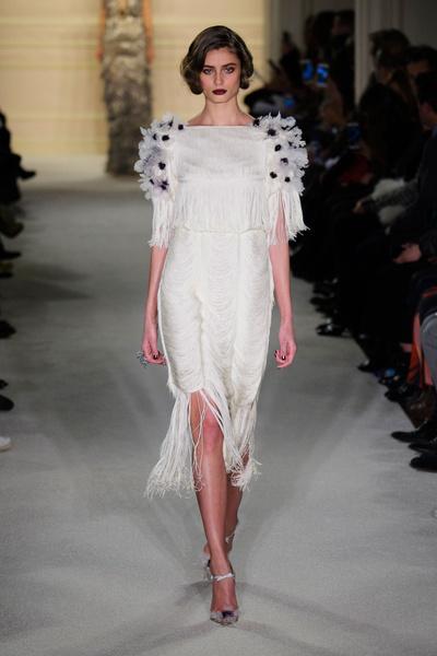 Показ Marchesa на Неделе моды в Нью-Йорке | галерея [1] фото [24]