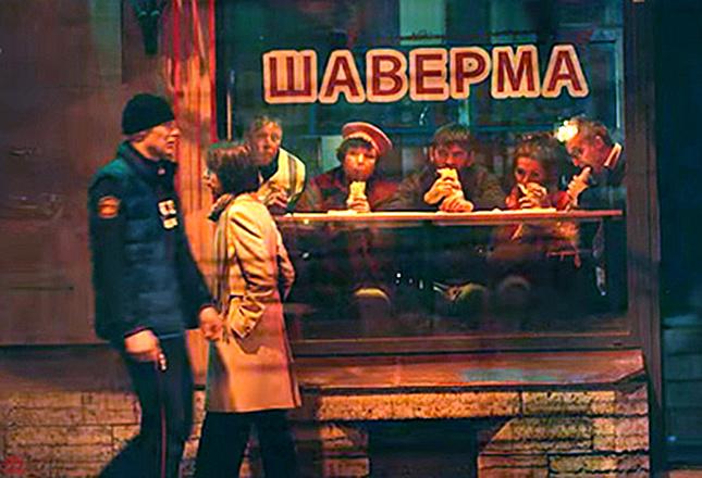 В Питере – пить: кадр из клипа