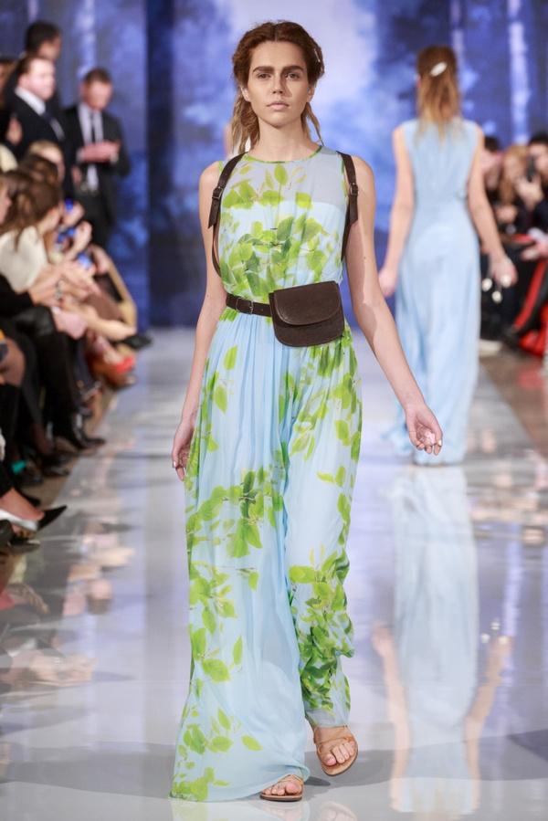 Белая береза: показ весенне-летней коллекции A LA RUSSE Anastasia Romantsova Мода на Elle.ru