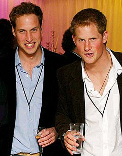 Принц Уильям (Prince William) и принц Гарри (Prince Harry)
