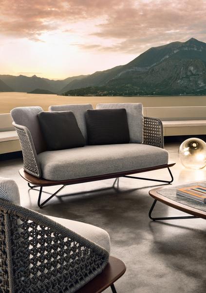 Outdoor коллекция мебели Rivera от фабрики Minotti   галерея [1] фото [1]