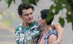 Голубки! Орландо Блум и Кэти Перри отдыхают на Гавайях