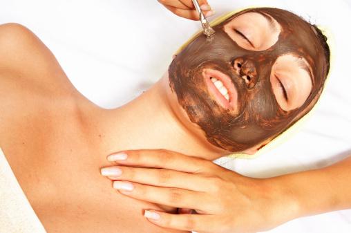 маска для лица с бадягой