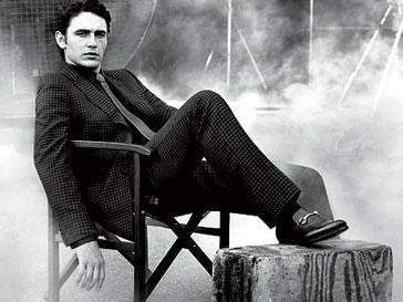 Джеймс Франко (James Franco) уже давно сотрудничает с модным домом Gucci