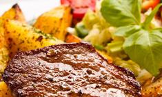 Готовим мясо, запеченное в фольге