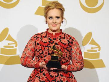 """Адель (Adele) на церемонии вручения премии """"Грэмми""""-2013"""