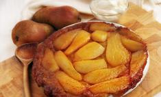 Сладкий домашний пирог с грушевой начинкой