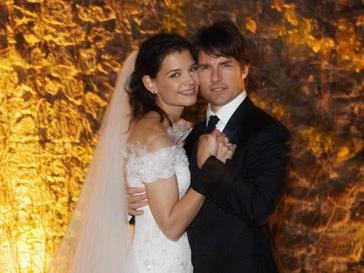 Том Круз и Кэти Холмс поженились 18 ноября 2006 года