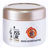 Маска «Абсолютный уход» Gliss Kur от Schwarzkopf для восстановления волос. Сделает гладкими и мягкими сухие и поврежденные волосы
