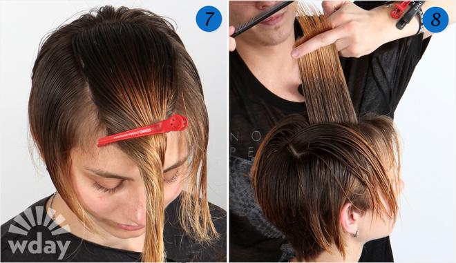 Стрижки волос поэтапно фото