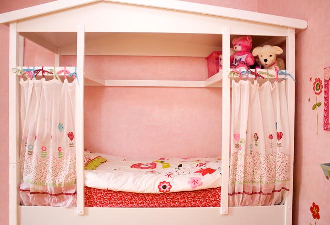 Интерьер детской для девочки, фото