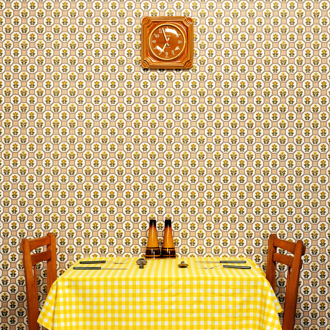 Цвет обоев на кухню