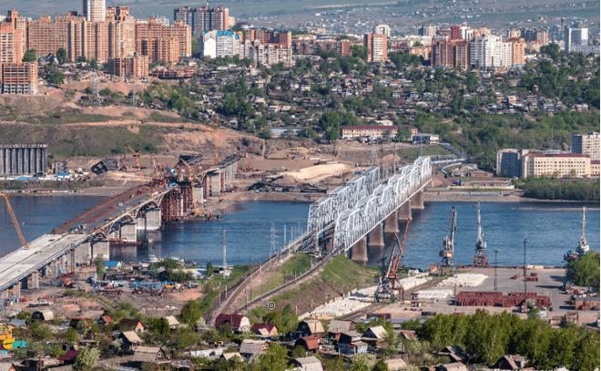 Открытие 4-го моста через Енисей