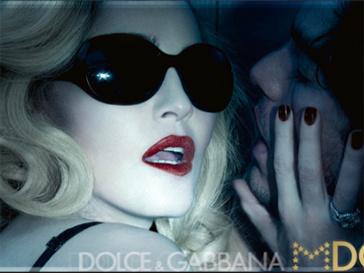 Мадонна в рекламе очков