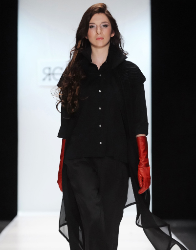 Mercedes-Benz Fashion Week Russia: Яна Гатауллина, осень-зима 2012/13