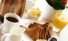 Кофе с тостом поможет повысить активность