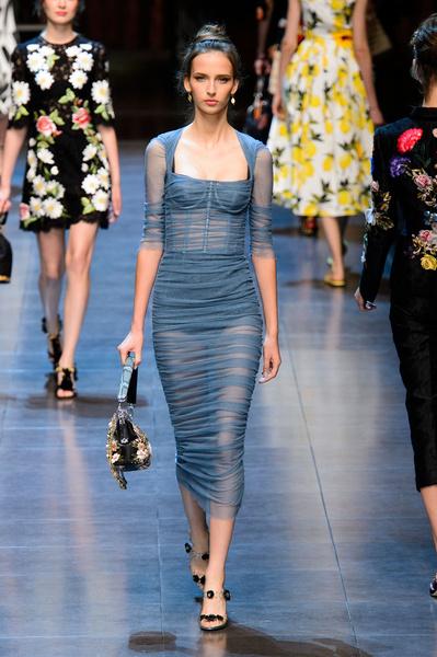 50 лучших платьев Недели моды в Милане | галерея [1] фото [20]