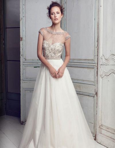 Свадебное платье Collette Dinnigan, коллекция весна-лето 2012