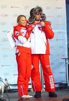 Дана Борисова и Андрей Малахов