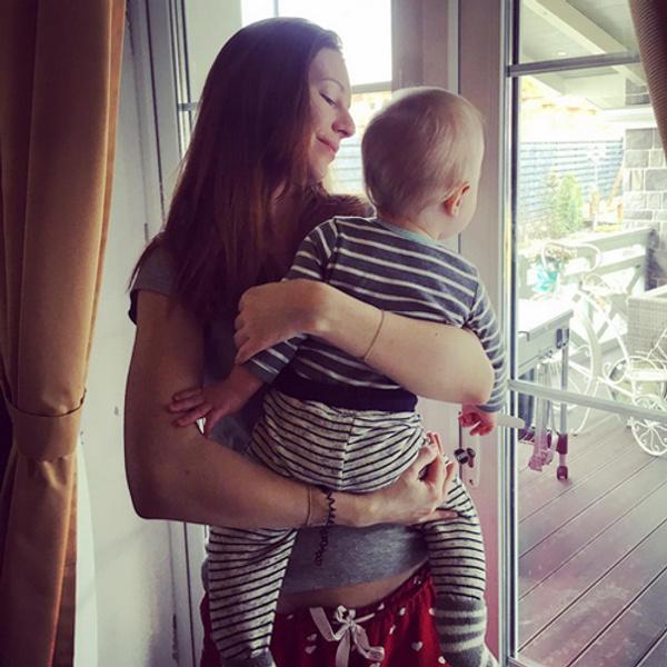 Наталья Подольская с сыном фото
