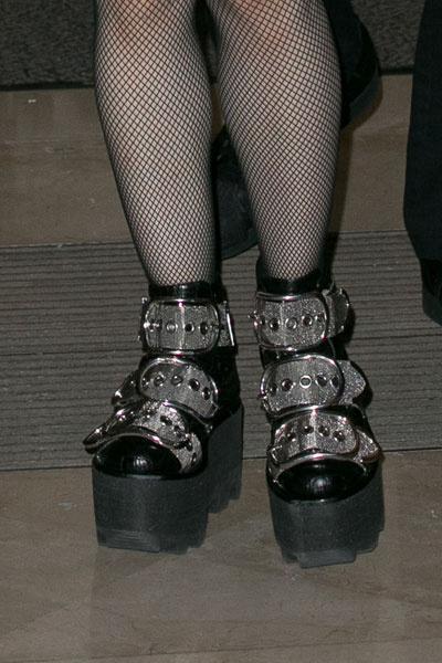 Мадонна в ботинках Alexander Wang