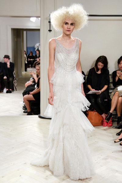 Свадебное платье Badgley Mischka осень-2014