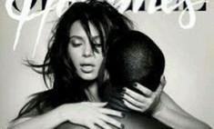 Ким Кардашьян и Канье Уэст снялись в эротической фотосессии