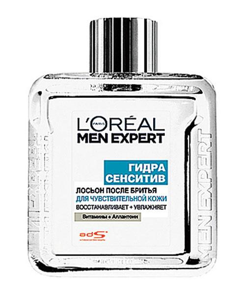 """Лосьон после бритья """"Гидра Сенситив Мен Эксперт"""" L'Oréal Paris, от 300 руб."""