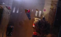 Как выглядит с вертолета настоящая полицейская погоня в духе голливудских боевиков (видео)