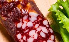 Сырокопченая колбаса: секреты выбора