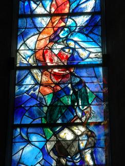 Собор Фраумюнстер: витраж Марка Шагала