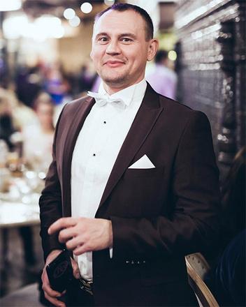 Степан Меньшиков, ведущий праздников, фото