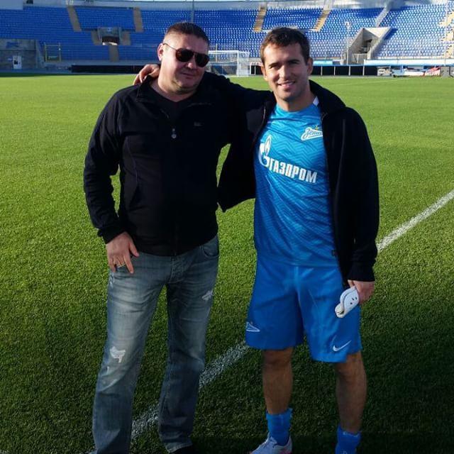Александр Кержаков снимается в кино фото