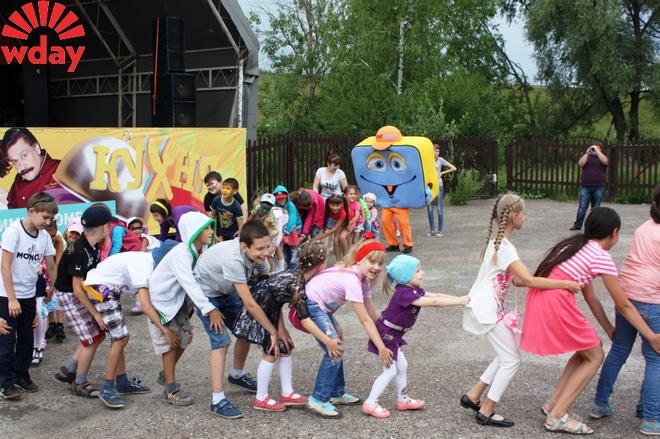 Праздник аквагрима в парке «Кырлай» фото