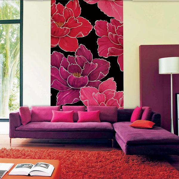 С помощью узкой фотокомпозиции, такой, как, скажем, 1,5-метровое панно Roses из коллекции Panoramiques (Camengo), можно сделать акцент наодну изфункциональных зон илинапредмет мебели. 25700 руб.