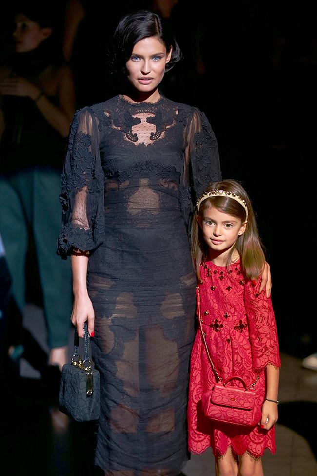 Бьянка Балти с дочерью Матильдой