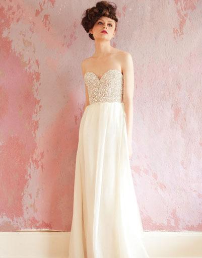 Свадебное платье Sarah Seven 2013