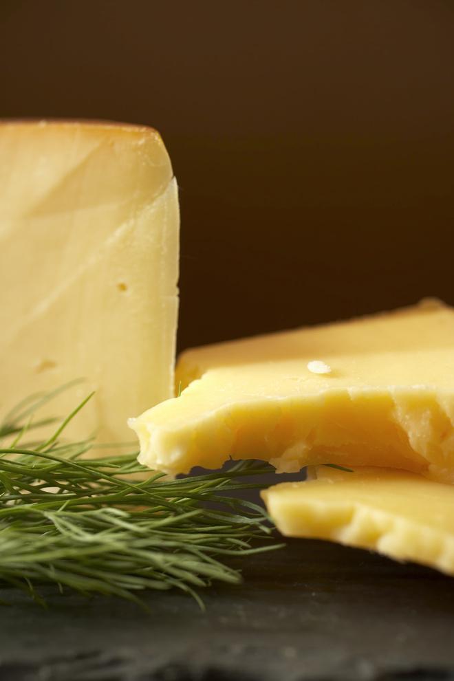 как коптить сыр