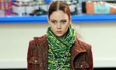 Семь лучших образов с показа Chanel осень-2014