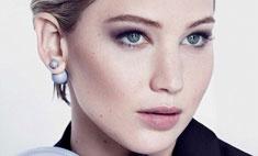 Дженнифер Лоуренс представила новые серьги от Dior