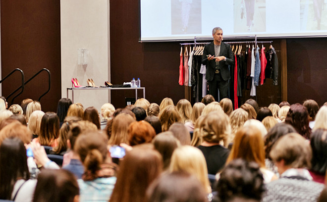 Александр Рогов провел мастер-класс в ТРК «Горки» для стилистов