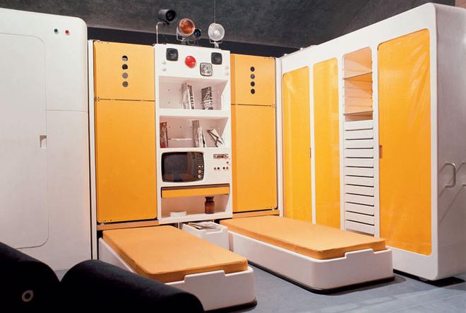 «Тотальный мебельный модуль» Джо Коломбо стал одним из главных хитов выставки в MoMA.