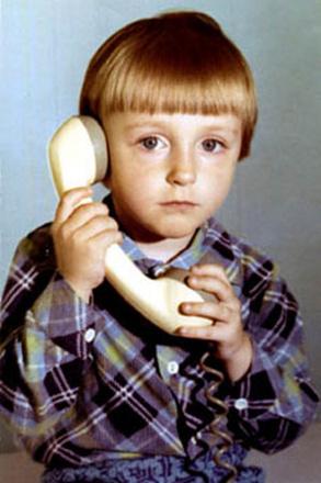 Сергей Безруков в детстве, фото