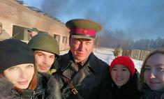 Георгий Дронов в Иркутске сыграл настоящего фронтового полковника