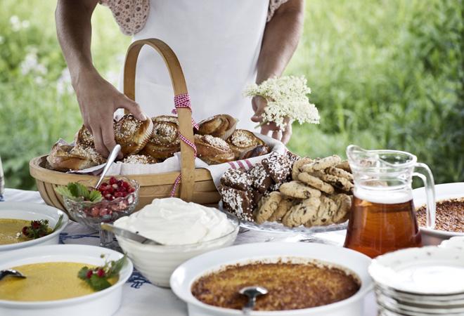 Пища в Швеции фото