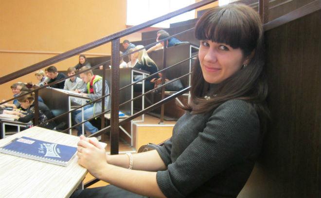 Омск, студенты, Наталья Варакина