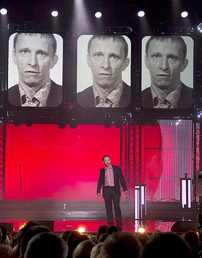 Ведущий церемонии открытия Иван Охлобыстин